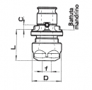 Rýchlovýměnné vložky pro kleštinu DIN 6499