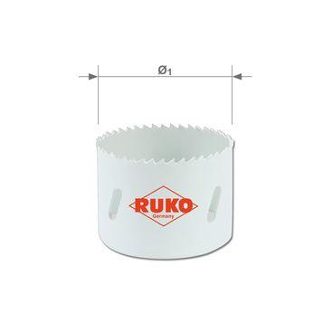 Bimetalová vykružovací pila HSSE-Co8 s jemným ozubením