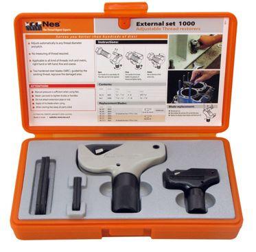 Sada nástrojů NES na opravu vnějších závitů Nes1000 External